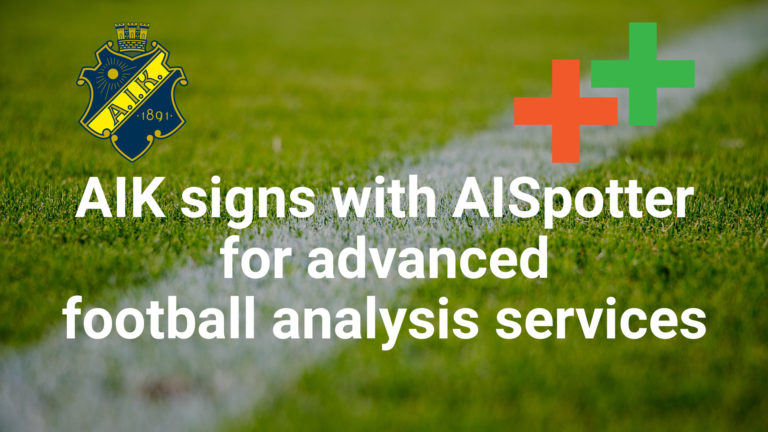 AIK signs with AISpotter