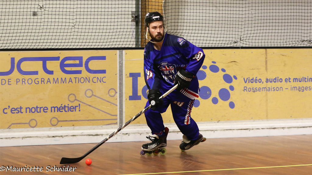 AISpotter supporting GB Inline Hockey