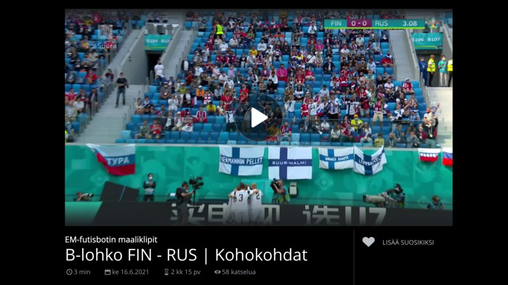 AISpotter releases live stream highlight clipping for UEFA EURO 2020